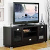 Matlock Modern TV Stand with Glass Doors - WI-FTV-886