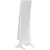Wessex Floor Jewelry Armoire - White - WI-GLD13318-WHITE