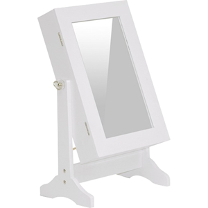 Wessex Tabletop Mirror - White