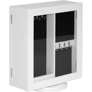 Wessex Jewelry Armoire - White