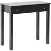 Wessex Vanity Table - Black - WI-GLT18070-BLACK