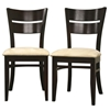 Grace Dark Brown Wood Dining Chair - WI-GRACE-DC-107