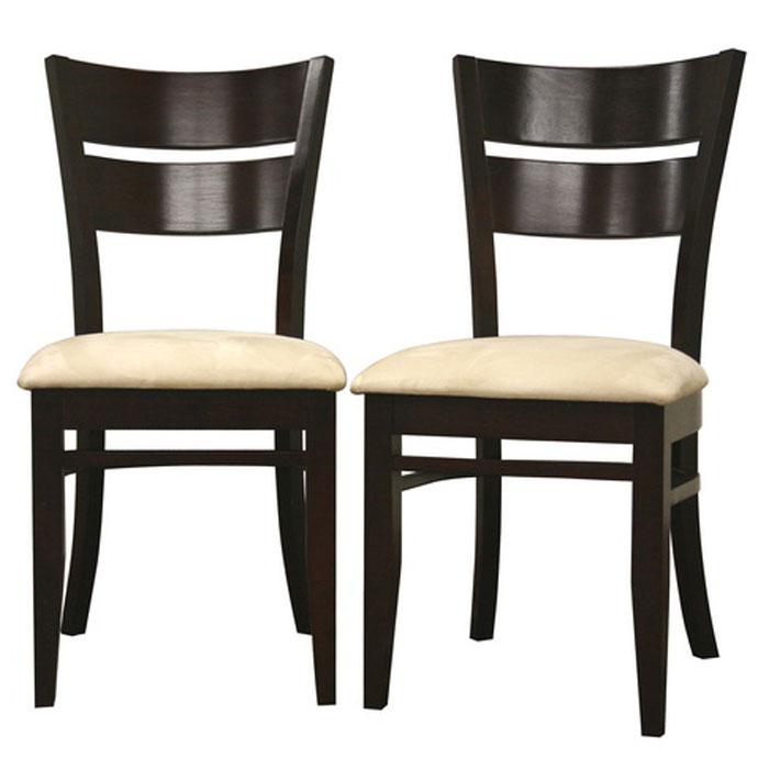 Grace Dark Brown Wood Dining Chair