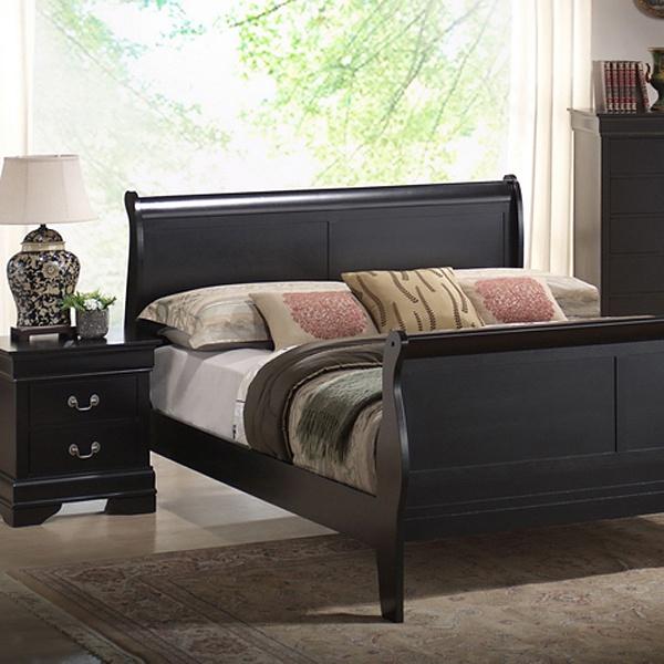 Transitional Bedroom Sets: Harrell King Size Transitional Bedroom Set