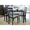 Jet Cheer Dining Chair - Wenge and Beige (Set of 2) - WI-JET-CHEER-DINING-CHAIR