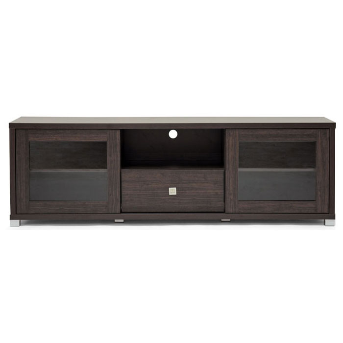 Kathleen Modern TV Cabinet with Glass Doors - WI-KATHLEEN-TV-CABINET