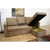 Tila Convertible Sofa with Storage Chaise - WI-LAN-121-SOFA/CHAISE