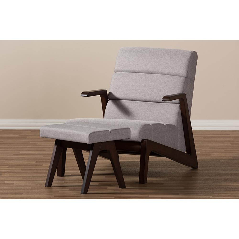 Vino Lounge Chair Set Gray Dcg Stores