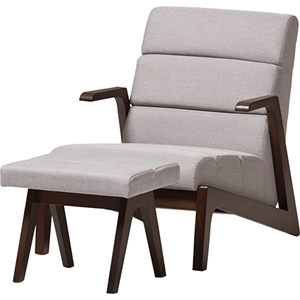 Vino Lounge Chair Set - Gray