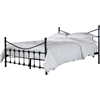 Alderley Queen Bed - Black - WI-LT-9-BLACK-QUEEN
