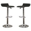 Vita Black Adjustable Height Swivel Bar Stool - WI-M-90022-BLACK
