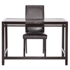 Fantastic Astoria Computer Desk Chair Set Keyboard Tray Espresso Ibusinesslaw Wood Chair Design Ideas Ibusinesslaworg