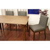 Mier Brown 5 Pieces Modern Dining Set - WI-MIER-SET-5PC