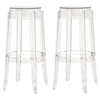Bettino Clear Acrylic Bar Stool Dcg Stores