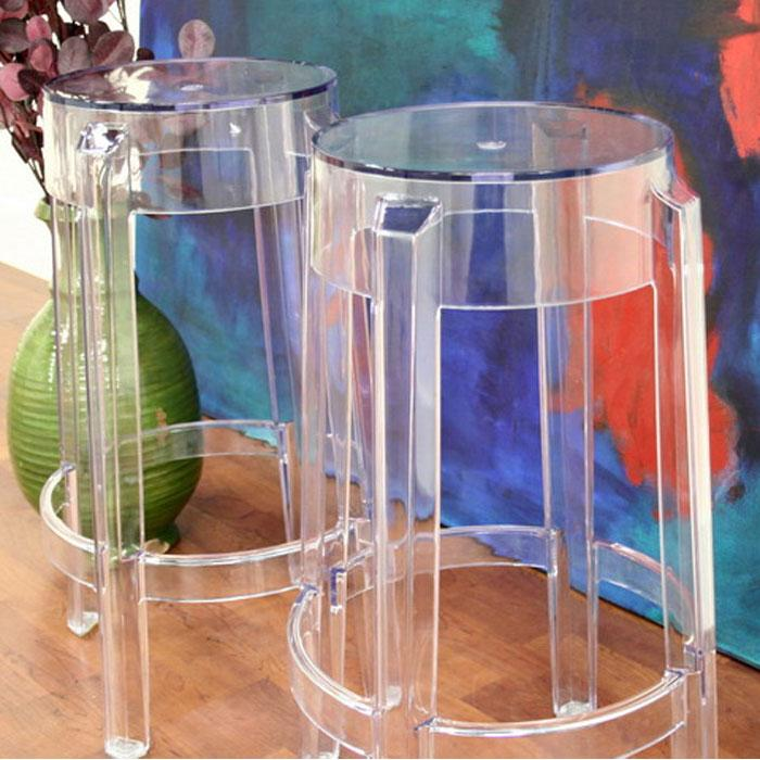Bettino Clear Acrylic Counter Stool Dcg Stores
