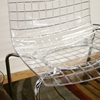 Obbligato Transparent Clear Acrylic Stackable Chair - WI-PC-91