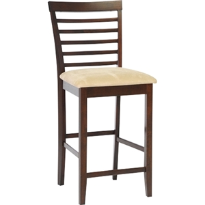 Kelsey Counter Stool - Cappuccino, Brown (Set of 2)
