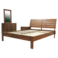 Robin 4-Piece Bedroom Set in Cocoa