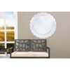 Bonham Round Accent Wall Mirror - Silver - WI-RS1486