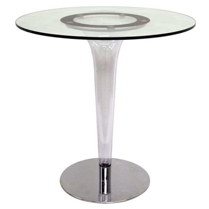 Simi Modern Glass Bistro Table - WI-RT-522