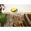 Blair Clear Acrylic Tablecloth Illusion Table - WI-RT-601-CLR