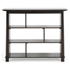 Havana Brown Wood Modern Bookcase - Short - WI-RT157D-OCC-L
