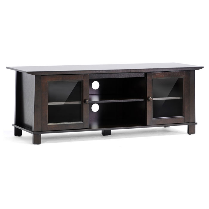 Havana Brown Wood Modern TV Stand - WI-RT157F-OCC