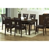 New Jersey 7 Piece Brown Wood Dining Set - WI-RT169-7PC