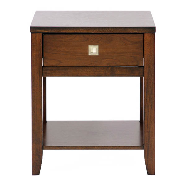 New Jersey Brown Wood End Table Dcg Stores