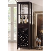 Austin Brown Wood Modern Wine Tower - WI-RT190-OCC