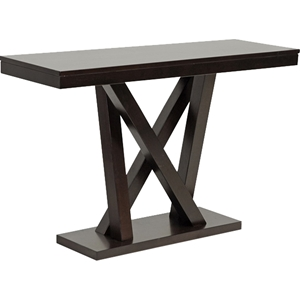 Everdon Rectangular Sofa Table - Dark Brown