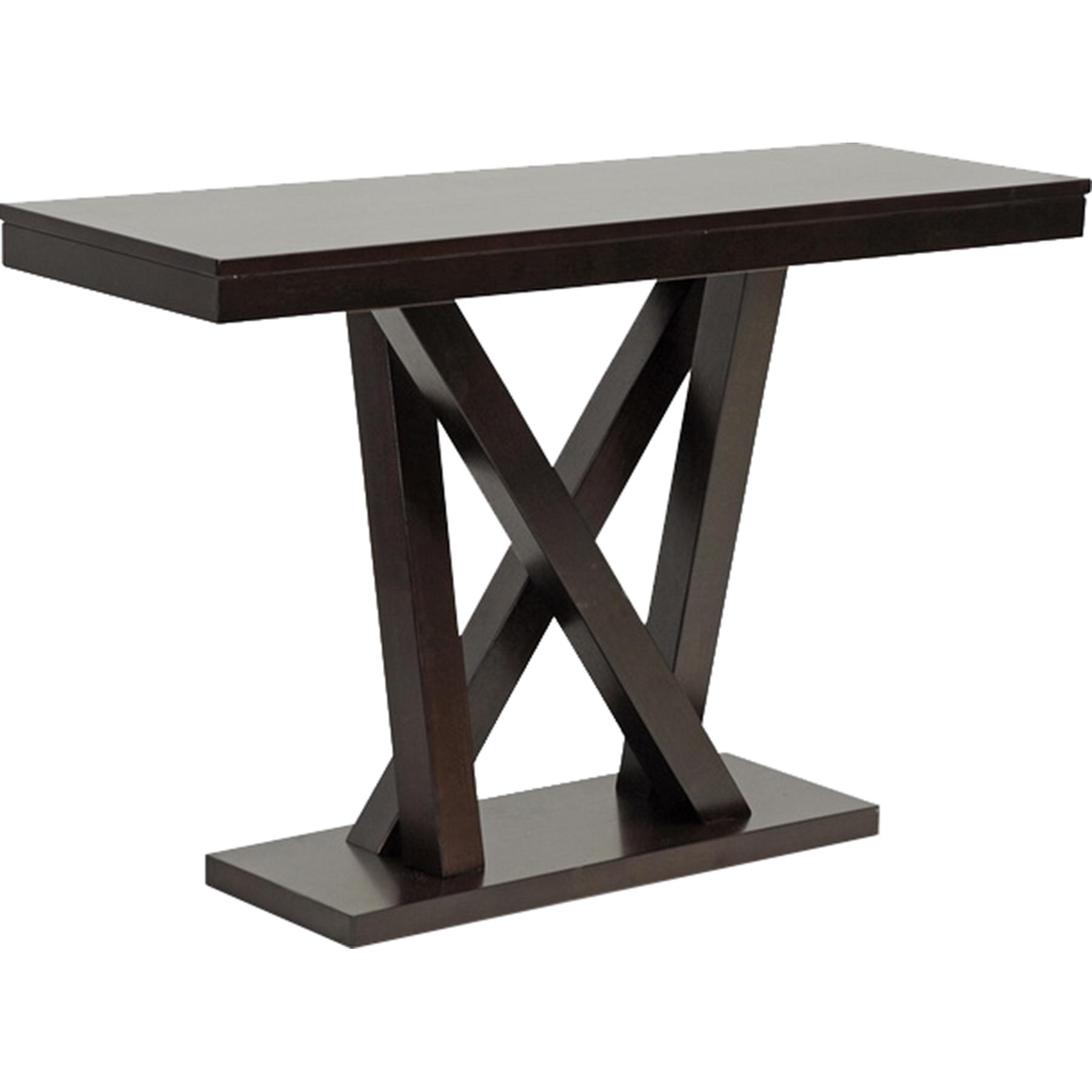 Everdon Rectangular Sofa Table   Dark Brown