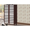 Gisela 4 Doors Shoe Cabinet - Oak and White - WI-SC865514-DIRTY-OAK-WHITE