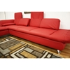 Misha Red Leather Modern Sectional with Chaise - WI-SF492C-RED