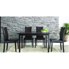 Berreman Dark Brown 5 Pieces Modern Dining Set - WI-BERREMAN-SET-5PC
