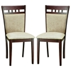 Stockton 5 Piece Dining Set in Dark Brown and Taupe - WI-STOCKTON-SET-5PC