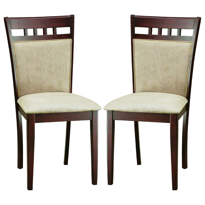 Stockton Dark Brown Dining Chair Dcg Stores