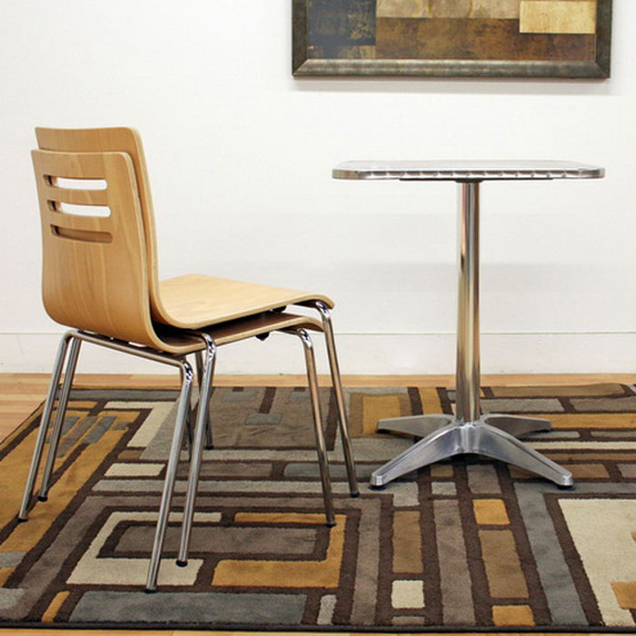 Sintra Stackable Molded Plywood Dining Chair - WI-SINTRA-CH