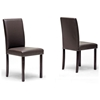 Susan Brown Dining Chair - WI-SUSAN-DC-107-309