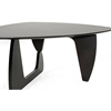 Hoover Noguchi Inspired Wooden Coffee Table - Wenge - WI-TB809-WENGE-CT