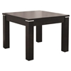 Fairfield Dark Brown Square End Table - WI-TCV-1146BRC-DW