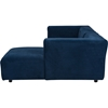Acuff Right Facing Sectional Sofa - Blue - WI-TD4907-RFC-BLUE