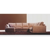 Sofia Harvest Sectional with Chaise - WI-TD6309-D-KF-14