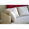 Off-White Microfiber Sectional with Chaise - WI-TD7814-KF-08