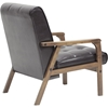Masterpieces Faux Leather Club Chair - Brown - WI-TOGO-CC-109-541