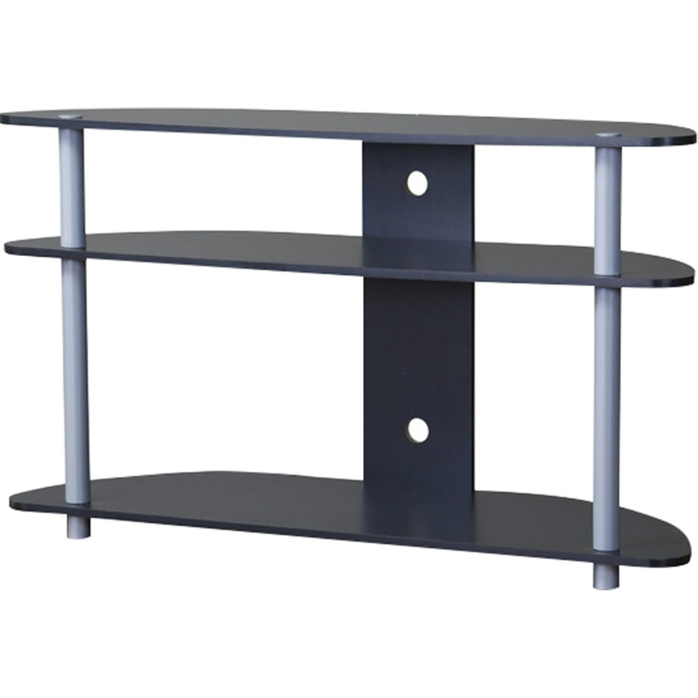Orbit 3 Shelves Tv Stand Dark Brown Dcg Stores