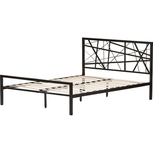 Barkley Metal Platform Bed - Black