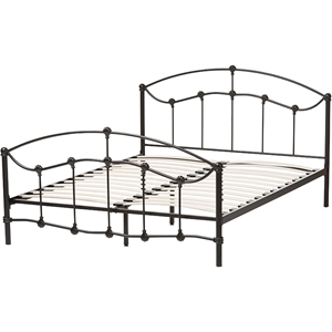 Eileen Metal Bed - Black