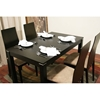 Lambert Wenge 5 Piece Dining Set - WI-LAMBERT-SET-5PC