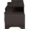 Madeline Entertainment Center TV Stand - 2 Drawers, Dark Brown - WI-TV838081-EMBOSSE